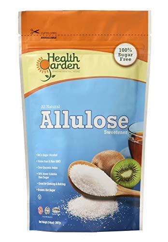 Health Garden Allulose Sweetener - Zero Net Carb Gluten Free Non GMO Kosher All Natural Sugar Alternative, 14 OZ