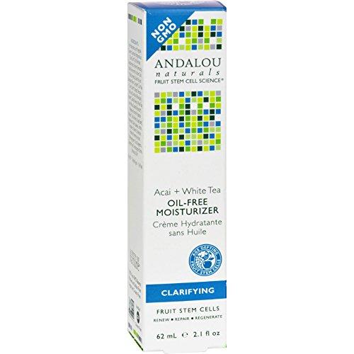 Andalou Naturals, Acai White Tea Oil-Free Moisturizer, 2.1 Fl Oz ()