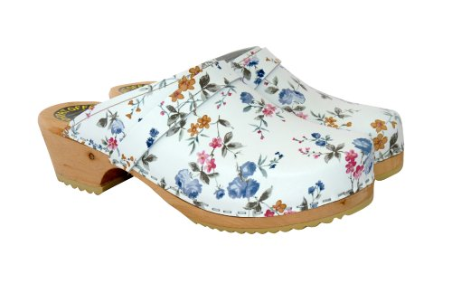 Wildflower Clog Lotta Stockholm Pattern Swedish From Classic in Clogs zXXB06qw
