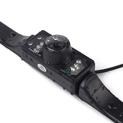 Waterproof 170°Car Rear View Rearview Back Up Color CMOS IR Camera - 7