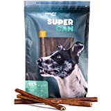 Cheap 12- Prime Thick Odor Free Bully Sticks [ 7 Pack ] by Super CAN Bully Sticks, 100% Natural Free Premium Cattle Beef. Healthy Nutritious & Delicious Dog Treats and Chews for All Dog Sizes