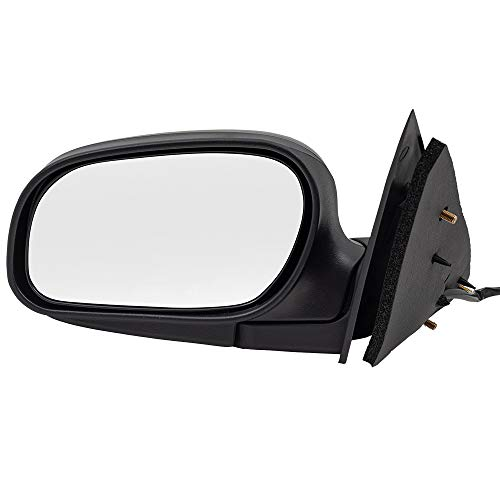 BROCK Side View Power Mirror for 2009-2011 Ford Crown Victoria Driver Replacement fits 9W7Z17683A 9W7Z 17683 A