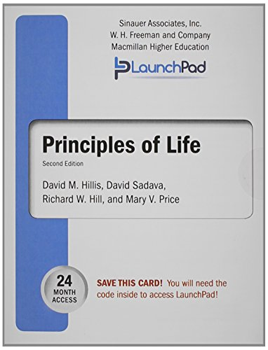 Software : LaunchPad for Hillis' Principles of Life (Twenty-Four Month Access)
