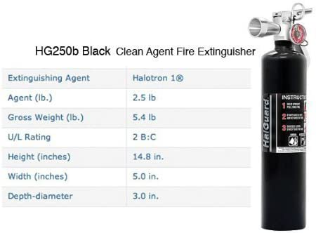 H3R Performance 2.5 lb. Fire Extinguisher