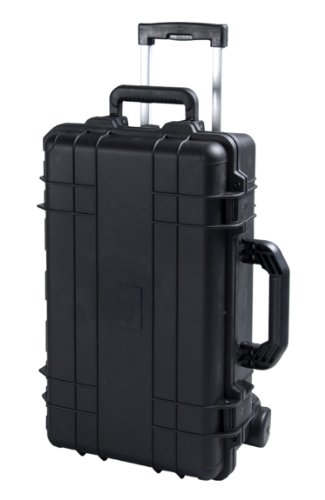 T.Z. Case International CB022 B 22 x 14 x 7-Inch Molded Utility Case with Wheels, Black ()