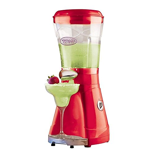 Nostalgia Electrics MSB-64RED Caribbean Chiller Ice Shaving Blender, Red