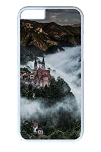 Covadonga in the mist PC case Cover for iPhone 6 and iPhone 6 4.7 inch White