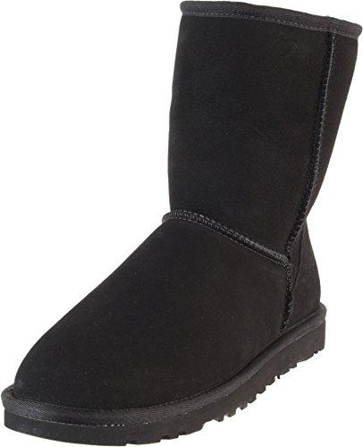 ugg-australia-womens-classic-short-black-sheepskin-boot-7-bm-us