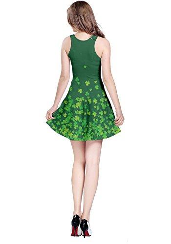 CowCow - Vestido - para mujer Shamrock Green