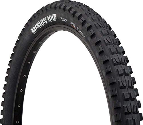 Maxxis Minion DHF 26 x 2.8 Tire 60tpi Dual Compound EXO Casing Tubeless (Best All Mountain Tires 2019)