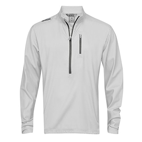 Lined Mock Zip Pullover - 8