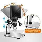 "TOMLOV 7"" LCD Digital Microscope with 32GB SD Card"