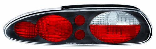 IPCW CWT-CE322CB Crystal Eyes Bermuda Black Tail Lamp - Pair - Chevrolet Camaro Tail Lights Crystal