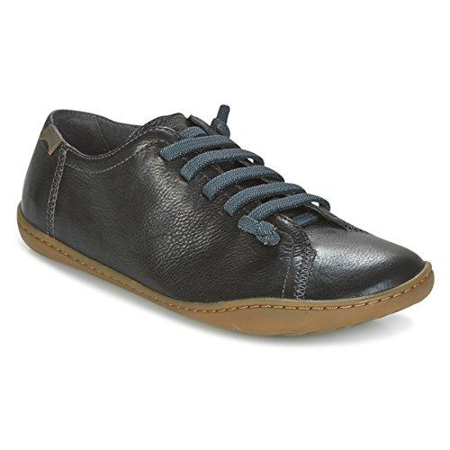 Camper de lona Zapatos Negro de 049 mujer para 20848 cordones 20848 049 Camper aq8B1x8
