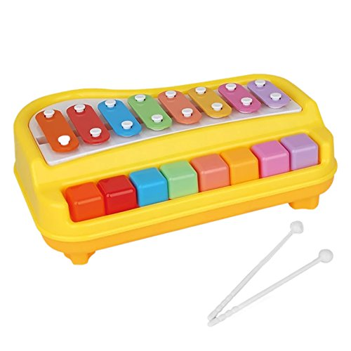 Baby Kid Child Musical Toys Xylophone and Piano Instrumen...