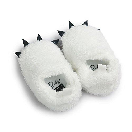 Moresave - Pantuflas Bebé-Niños Weiß