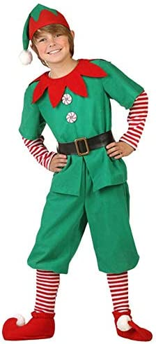 ShangSRS Disfraz de Navidad Conjunto de Cosplay Duende Elfo ...