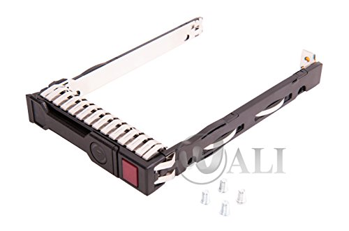 WALI WL-2.5 SFF SAS Sata HDD SSD Drive Carrier Tray for Hp Proliant Gen8 G8 Gen9 G9 ()