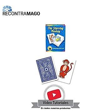 RecontraMago Magia - El Mono Hambriento - Incluye VideoTutorial por Magos Profesionales - Juegos de Magia con Cartas Faciles y Divertidos