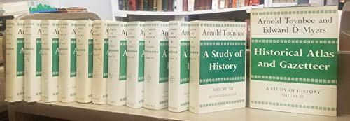A study of history. The COMPLETE 12 vol. set, with the atlas (vol. 11) and Reconsiderations (vol. 12). (Arnold J Toynbee A Study Of History)