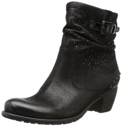 Schwarz Noir schwarz Femme Bottes Ambra Und Schmenger Classiques Kennel 7q0Z40