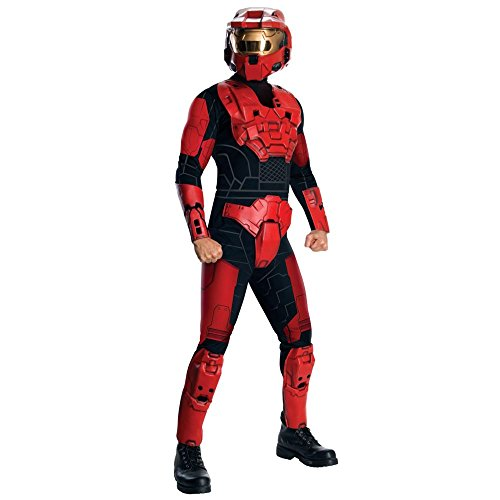 Deluxe Red Spartan Halo Costume - Adult
