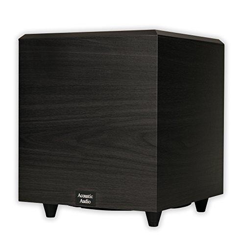 Acoustic Audio PSW-10 400 Watt 10-Inch Down Firing Powere...