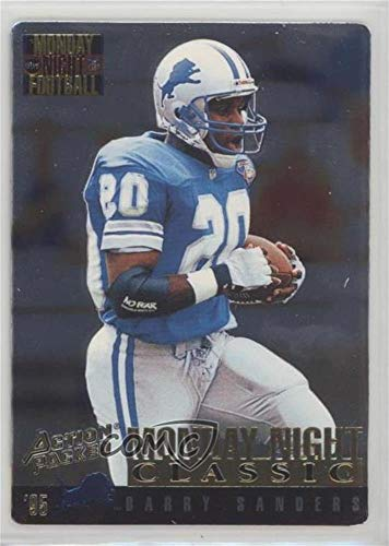 Barry Sanders Highlights - Barry Sanders (Football Card) 1995 Action Packed Monday Night Football - [Base] - Highlights #103