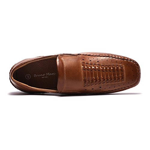 Bruno Loafers Pepe Moccasins Men's Penny Marc brown Shoes 8 08 XqrXT
