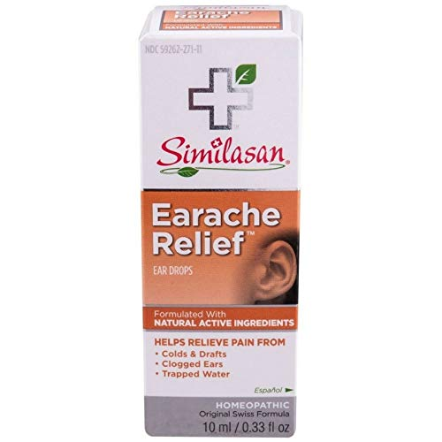 Similasan Earache Relief Ear Drops 10 mL (Best Earache Medicine Over The Counter)
