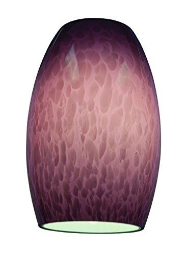 Chianti – Pendant Glass Shade – Purple Cloud Glass Finish