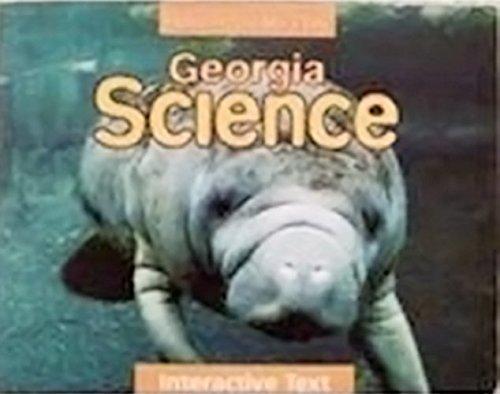 Houghton Mifflin Science Georgia: Student Edition Level 5 2009