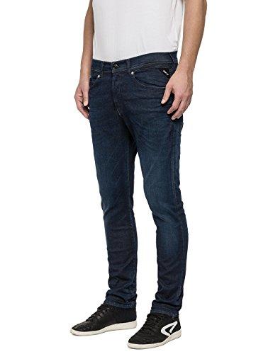 Ezhir Denim Homme 7 blue Replay Jeans Blau dwqx7ndBp