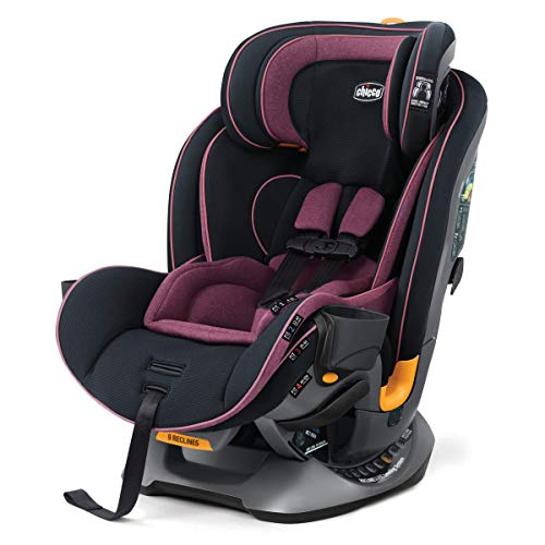 Chicco Fit4 4-in-1 Convertible Car Seat | Easiest All-in-One from Infant to Booster | 10 Years of Use – Carina