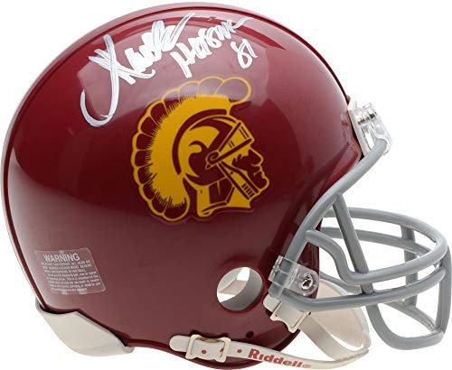 Marcus Allen Autograph - Marcus Allen USC Trojans Autographed Schutt Mini Helmet with