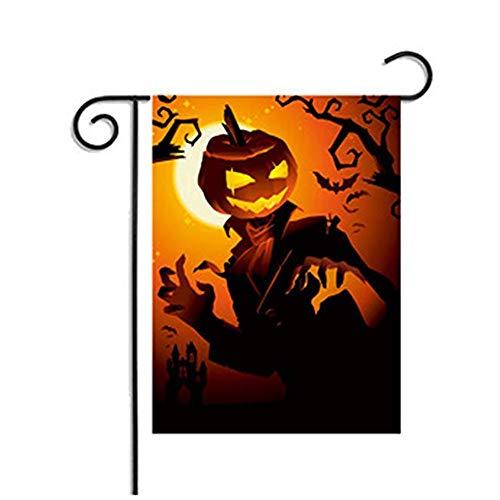 Zamango Halloween Garden Flag 12