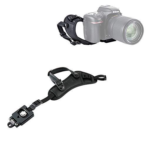 JJC Camera Hand Grip Strap with Arca Type Plate for Nikon Coolpix P1000 P900 B700 Panasonic G7 G9 GH5S GH5 GH4 FZ80 FZ1000 FZ2500 FZ300 Canon PowerShot SX70 SX60 SX530 HS Sony HX400V HX300 H400 H300