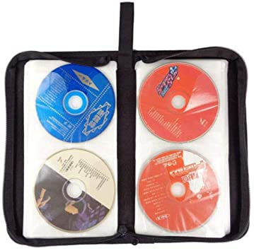 Dandeliondeme Portátil 80 Ranura DVD CD Disc Soporte Álbum de Almacenamiento Caja vacía Plegable Bolsa de Transporte Organizador hogar Viaje Cartera Bolsa de Transporte: Amazon.es: Coche y moto