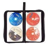 daffodilblob Portable 80 Slot DVD CD DISC Holder Album Storage Case Empty Folding Carry Bag Organizer Home Travel Wallet Bag Case Carrying