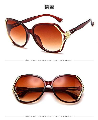 De De C2 zhenghao Gafas Mujer Xue Sol c6 Moda Ultraviolet 7xq1wgv ...
