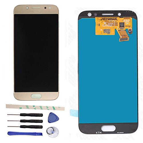 LCD Display Touch Screen Digitizer Assembly Replacement For Galaxy J5 2017 Pro J530 SM-J530F SM-J530Y J530Y/DS J530GM/DS J5 2017 Pro Duos (gold)