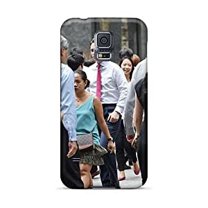 Perfect Hard Phone Cover For Samsung Galaxy S5 (pzQ12390SHAe) Provide Private Custom Nice Rise Against Series
