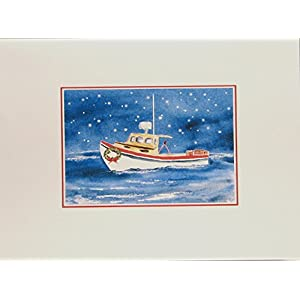 41snv5DkVWL._SS300_ Beach Christmas Cards and Nautical Christmas Cards
