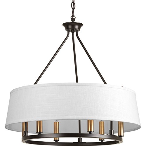 Progress Lighting P4618-20 Traditional/Formal 6-60W Cand Chandelier, 97