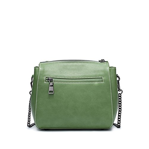green Shoulder Bag 19 Female 17Cm Square OME 9 Spring Small Bag Shoulder amp;QIUMEI Summer Single Single Bag Bag Shoulder Shoulder BxHqE