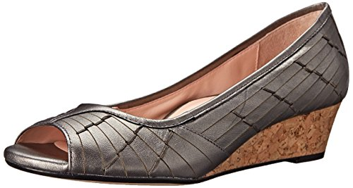 Taryn Rose Women's Sadey Huarache-Inspired Shoe Pewter vfQn90