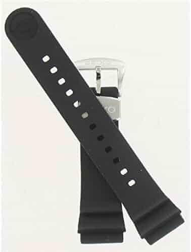 Seiko 22mm Black Resin Diver Strap for Series SRP773/775/777/779