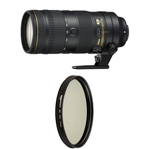 Nikon AF-S NIKKOR 70-200mm f/2.8E FL ED VR with Circular Polarizer Lens - 77 mm