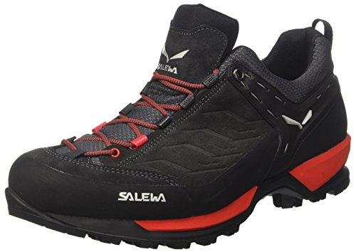 Salewa Herren MS MTN Trainer Trekking-& Wanderhalbschuhe Mehrfarbig (Black Out/Bergot)