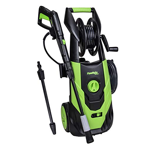 Electric Pressure Washer, 2100PSI 1.80GPM Power Washer with Extra Turbo Nozzle, Onboard Detergent Tank